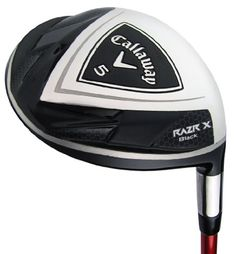 Callaway RAZR X Black 3 Fairway Wood (Right Hand, Graphite, Stiff, 15).    List Price:$250.00  Buy New:$199.00  You Save:20%  Deal by: ProGolfShoppers.com Mens Golf Clubs, Golf Clubs For Sale, Graphite, Collections, Wood, Black, Graffiti, Woodwind Instrument, Black People
