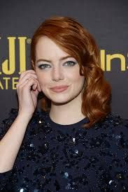 Emma Stone attends the reveal of Miss Golden Globe 2017 during the celebration of the 2017 Golden Globe Award season by The Hollywood Foreign Press Association (HFPA) and InStyle, in West Hollywood, California, on November 10, 2016.