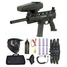Tippmann X7 Phenom Electronic Paintball Marker Gun 3Skull Sniper Set. Available at Ultimate Paintball!!  http://www.ultimatepaintball.com/p-5306-tippmann-x7-phenom-electronic-paintball-marker-gun-3skull-sniper-set.aspx