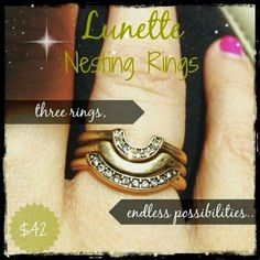 Get three rings for the price of one!