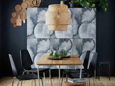 KALVIA Range IKEA kitchen watercolour pattern finish