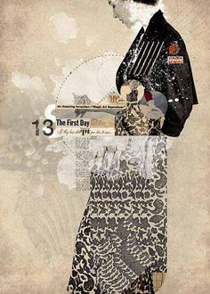 Beautiful use of collage, pattern, texture, type.  Designspiration — FFFFOUND! | XOTE