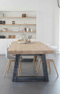 4 Wonderful Tips: Minimalist Home Art Decor minimalist kitchen design ideas.Minimalist Home Modern Life minimalist bedroom small storage ideas. Küchen Design, House Design, Interior Design, Design Ideas, Interior Architecture, Dining Room Design, Dining Area, Dining Sets, Dining Tables
