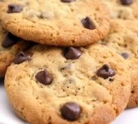Double Chocolate Chip Cookies ~ sugarfree!