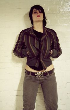 Brody Dalle, The Distillers, Punk Rock Girls, Hot Outfits, Girl Crushes, Rock And Roll, Attitude, Beautiful Women, Leather Jacket