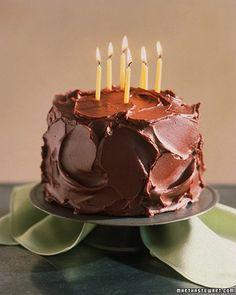 Moist Devil's Food Cake Recipe// Martha Stewart