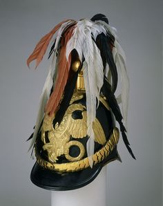 шлем shlem / Helmet from the Coronation uniform of Alexander II, Museum no. © The Moscow Kremlin Museums Catalina La Grande, Moscow Kremlin, Court Dresses, Peter The Great, Imperial Russia, Historical Clothing, Historical Dress, Royal Fashion, Men's Fashion