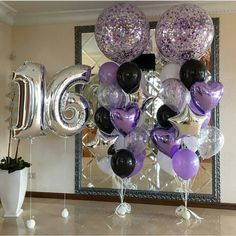 New birthday balloons for him sweets 17 ideas Birthday Parties New birthday balloons for him sweets Sweet 16 Party Decorations, 16th Birthday Decorations, Sweet 16 Themes, Graduation Decorations, Birthday Party For Teens, 18th Birthday Party, Sweet 16 Birthday, Birthday Ideas, Birthday Images