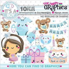Bebé bebé gráficos, Imágenes Prediseñadas, uso comercial para todos sus proyectos e ideas. --------------------------------------- ★REGULAR precio $4 .95usd - ahora $0. 98usd★ --------------------------------------- Este arte de clip de Kawaii es perfecto y buenísimo para crear