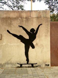 Foto: • ARTIST . TYLER •  ◦ Ballerina Level, Expert ◦ location: Mumbai, India #streetart