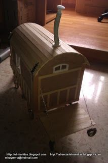 Zingara gypsy wagon