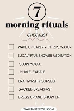 7 Amazing morning habits that changed my life for the better! Try this morning routine will also help you to change your life, practice self-care and self-love! These morning rituals really are going to help you with your overall wellness and health, nourish your mind, body and soul for a good and happy life! #morningroutine #morninghabits #habits #selflove #selfcare #selfdevelopment Eat Better, Better Health, Self Development, Personal Development, Self Healing Quotes, Healthy Life, Healthy Living, Morning Habits, Anxiety Tips