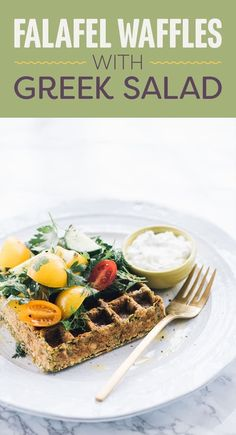 These waffles get a double dose of protein thanks to a smart batter made with chickpeas, and Greek yogurt dipping sauce. If you don't have a waffle maker, form the dough into ½-inch thick pancakes and cook in an oiled skillet over medium heat. They might not be as fun as waffles, but they'll taste just as good.Amount of protein per serving: about 87 grams