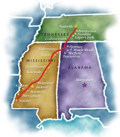 15 Must See Stops on the Natchez Trace Parkway