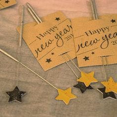New Years Star Sparkler Party Packs