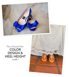 Omg design your own wedding shoes? We're in shoe heaven over here with custom online boutique, Milk and Honey Shoes! Create your own gorgeous and totally unique pair! Bridal Shoes, Wedding Shoes, Dream Wedding, Wedding Stuff, Blue Flats, Blue Shoes, Cinderella Shoes, Bridesmaid Shoes, Marrying My Best Friend