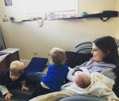 Let's all pile on Aunt Sharon! #cousins