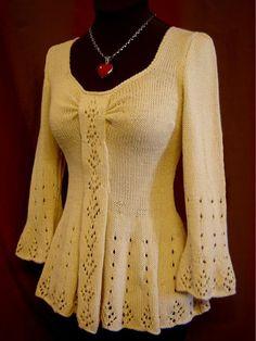 (6) Name: 'Knitting : Evangeline Tunic