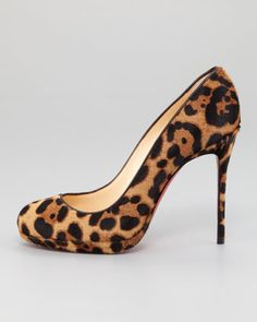 Love these @LouboutinWorld Filo leopard pumps available @neimanmarcus #shoeporn ~