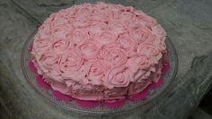 Tarta Rosas para Amelia