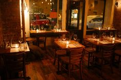 Restaurants tend to get blown up for six months, until everyone decides to move…