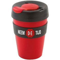 Douwe Egberts coffee to go mug