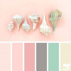 24 New ideas for bedroom colors pink design seeds Palette Design, Color Schemes Design, Pink Color Schemes, Colour Pallete, Color Combos, Color Patterns, Design Color, Design Seeds, Bedroom Paint Colors