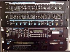 Roland MKS-80 and MPG-80. Also known as the Roland Super Jupiter. I love mine, but its not as super a Jupiter as my Jupiter-8 which still has a much warmer sound.