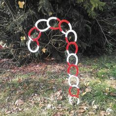 Horse Shoe Candy Cane by LawsonsMetalCreation on Etsy  www.facebook.com/lawsonsmetalcreations