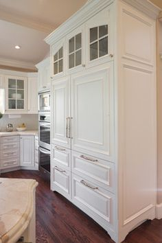 Sub Zero Refrigerator Cabinets | Glass Front Sub Zero Refrigerator Design  Ideas, Pictures,