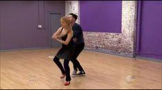Screencap of Lea & Val's VT & Broadway dance - credit: ©dancingabc