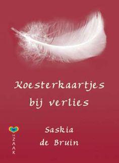 Koesterkaartjes Bij Verlies-Saskia de Bruin-boek cover voorzijde