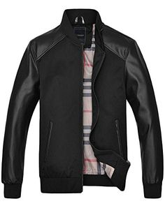 Minibee Men's Motorcycle PU Leather Jacket Black M Minibee http://www.amazon.com/dp/B00WNSGEO8/ref=cm_sw_r_pi_dp_UT83vb0QRG85M