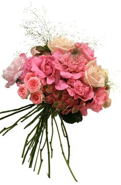 A nice spring bride's bouquet... nobody can resist hydrangeas, peonies and roses! Un bonito ramo de novia primaveral... ¡¿quien podria resistirse a hortensias, peonias y rosas?!