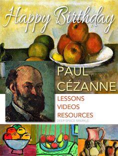 Happy Birthday, Paul Cézanne! #compartirvideos #happy-birthday