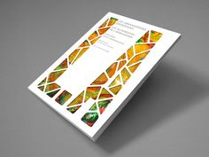 The front cover is very effective, it is a cut out effect which works with the supposed title of the book.