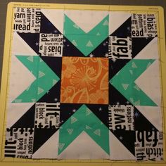 February block is done for @simplypieced ...love the colors.#beehiveswarmjoy2016 #thebeehive