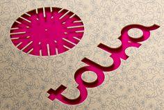 TOLKA wool needlework logo by Kris