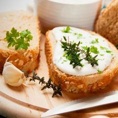 """Celebrate the French holiday Bastille Day by serving yourself this yummy herbed """"cheese"""" spread. Raw Food Recipes, New Recipes, Queso Panela, Vegan Party Food, Vegan Food, Bastille Day, Cheese Spread, Food Articles, Vegan Cheese"""