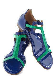 Patent on the Back Sandal 34.99, #ModCloth