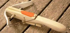 """Instructable on how to DIY """"40 Pound Mini PVC Crossbow"""". I'm guessing it wouldn't be too difficult to modify it to the 30# or 25# max as required by many LARPs."""