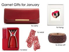 January/Garnet gift ideas