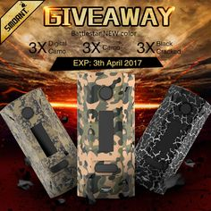 30X Smoant Battlestar 200W TC Mods Giveaway