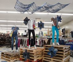 Have you visited your favorite Goodwill of OC store lately? Enjoy our fun displays with summer fashions. =) #Savings. Look what we found at the Goodwill store in 849 S. Tustin St, Orange, CA.
