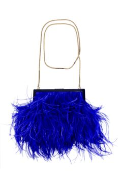 Every girl needs feathers for a night out! Flights of Fancy Evening Bag by Kate Spade