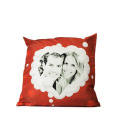 A personalized pillow with picture, that way your half would always be at your side.