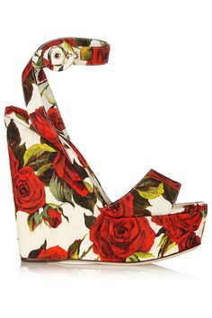 Dolce & Gabbana Rose Wedge SS 2015 | Shoes