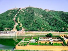 Amber fort surroundings, Jaipur, India