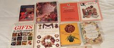 8 BOOK LOT Crafts Teen Adult Gifts DIY, Potpourri, Wreaths Garland, Flowers  #Unbranded