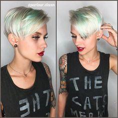 Diese Kurzhaarfrisuren sehen besonders bei Frauen mit blonden Haaren total cool aus! - Neue Frisur